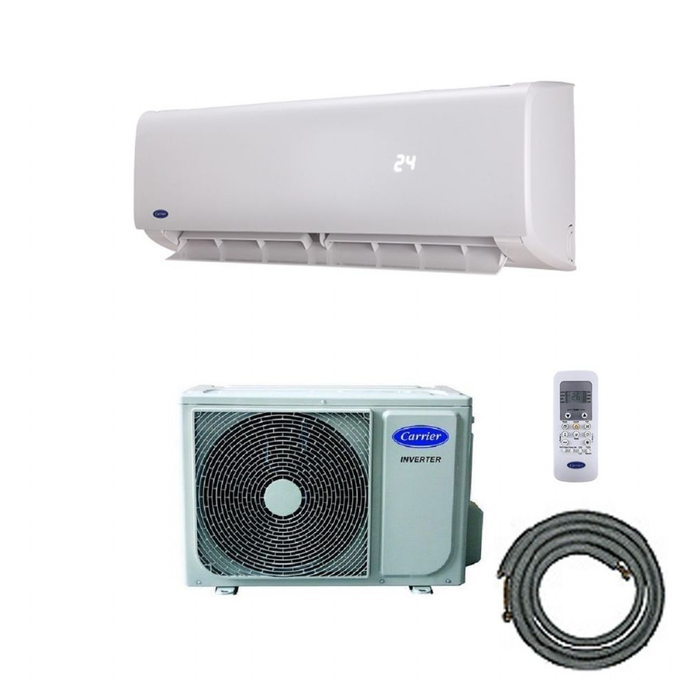 Carrier EasyFit Wall Mounted Air Conditioning Inverter Heat Pump Kit (5Kw / 18000btu) 240V~50Hz